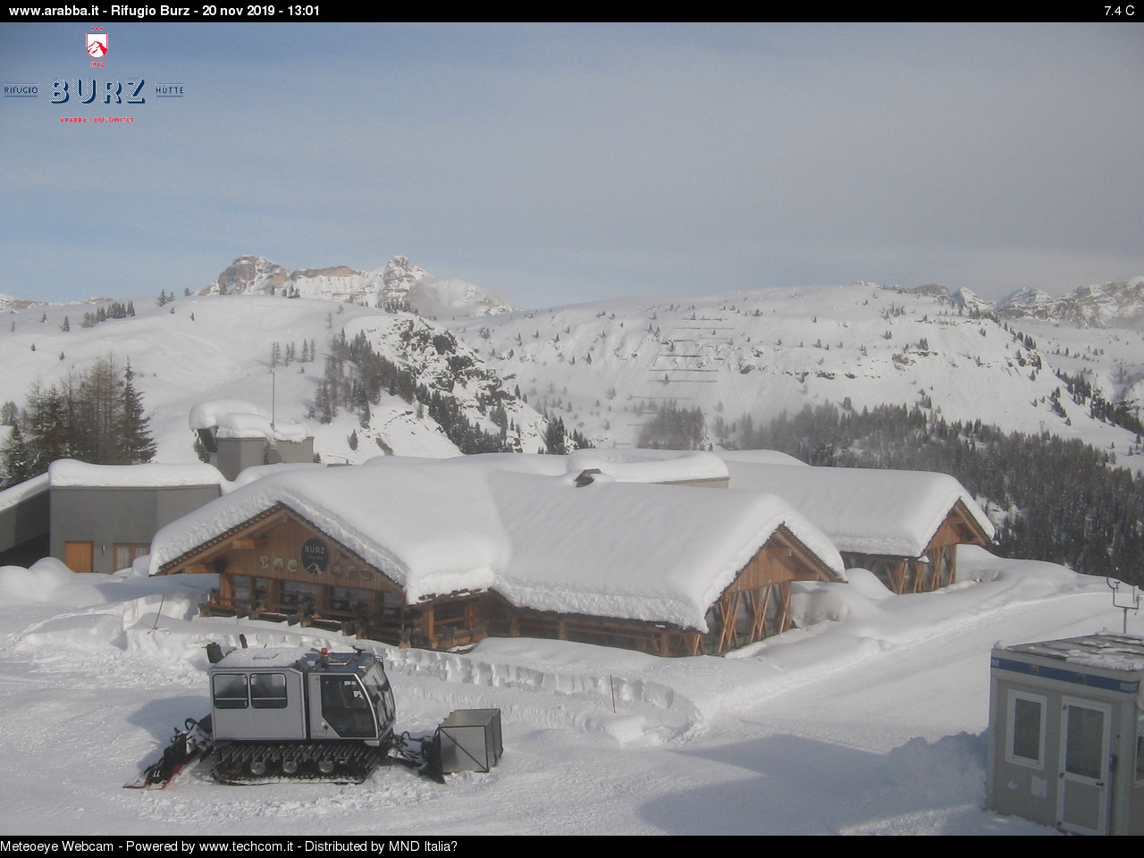 Arabba webcam - Rifugio Burz
